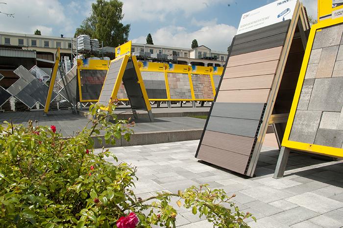 erweiterung unserer fliesen und terrassen ausstellung in. Black Bedroom Furniture Sets. Home Design Ideas