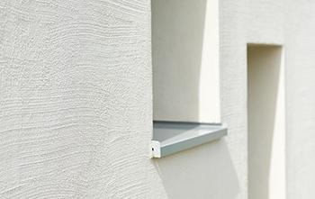mit besenstrich putz individuelle fassaden gestalten. Black Bedroom Furniture Sets. Home Design Ideas